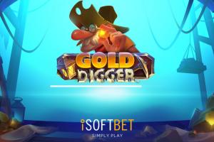 Gold Digger von iSoftBet ist das Spiel der Woche auf NetBet!