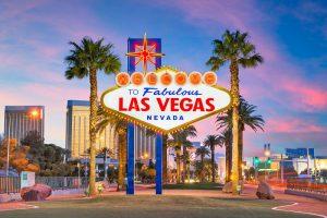 las vegas, casinos, palm trees