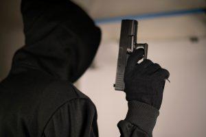 thief, robber, gun