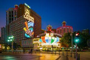casino, lights, casino games