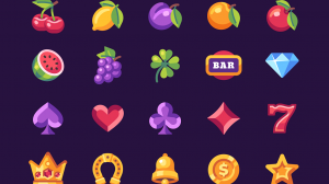 slot, slot machine, fruit