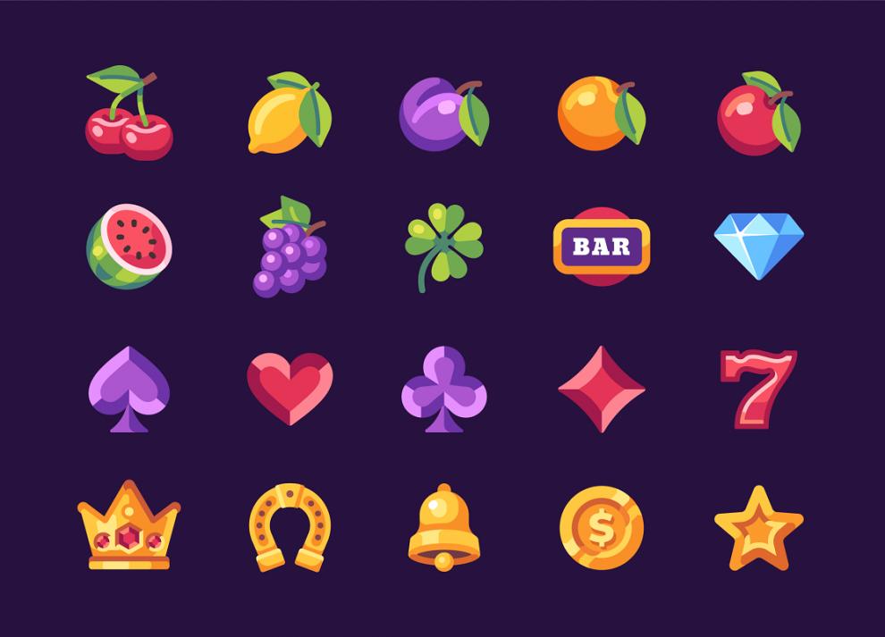slot, slot machine, fruit